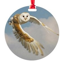 wings of the owl Ornament
