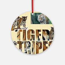 tiger cover Round Ornament