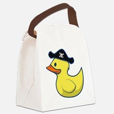 Pirate Duck Canvas Lunch Bag