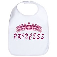 Princess in Pink Bib