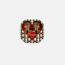 I Love Cleopatra by Byteland Mini Button