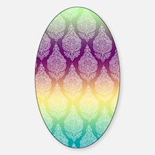 Rainbow Henna Decal