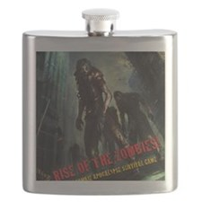 Rise of the Zombies Flask