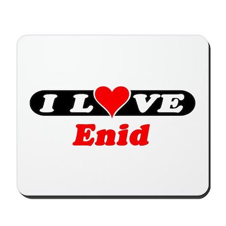 I Love Enid Mousepad