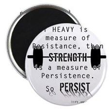 Strength is Persistence Magnet