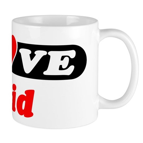 I Love Enid Mug