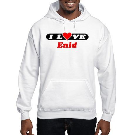 I Love Enid Hooded Sweatshirt