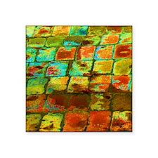 """brick Square Sticker 3"""" x 3"""""""
