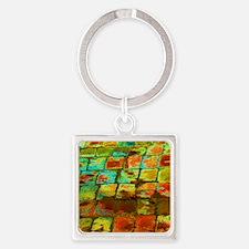 brick Square Keychain