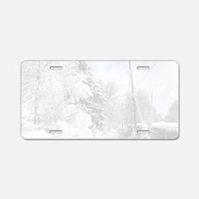 Magnetic Dry Erase Board Aluminum License Plate