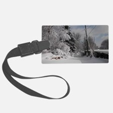 Rectangular Cocktail Plate Luggage Tag