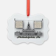 Philadelphia Landmarks – Independ Ornament