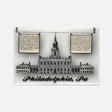 Philadelphia Landmarks – Independ Rectangle Magnet