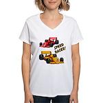 Speed Racer Women's V-Neck T-Shirt