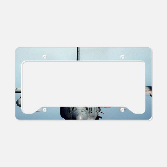 C-130 Spooky Aircraft License Plate Holder