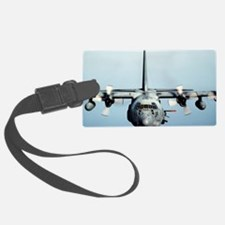 C-130 Spooky Aircraft Luggage Tag