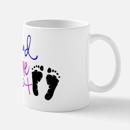 preemie feet Mug