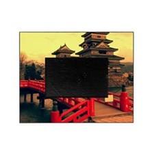 Pagoda with Bridge Picture Frame