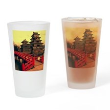 Pagoda with Bridge Drinking Glass