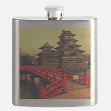 Pagoda with Bridge Flask