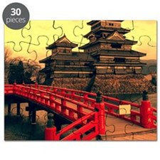 Pagoda with Bridge Puzzle