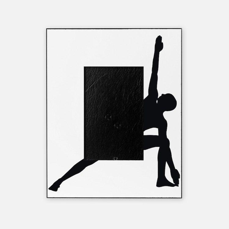 Bikram Yoga Triangle Pose Picture Frame