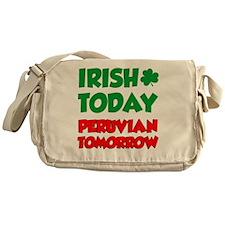 Irish Today Peruvian Tomorrow Messenger Bag