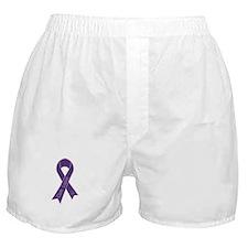 Cure Lupus Ribbon Boxer Shorts