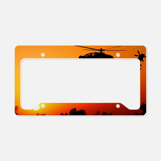 Ah-64 Apahce License Plate Holder