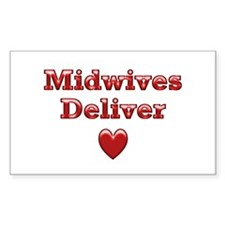 Delivering Love With This Rectangle Decal