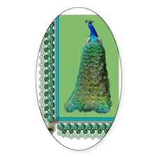 Pop-Peacock Large Decal
