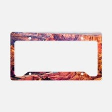 Grand Canyon Landscape Photo License Plate Holder