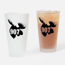 907 Moose Head Drinking Glass