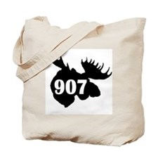 907 Moose Head Tote Bag