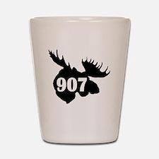 907 Moose Head Shot Glass