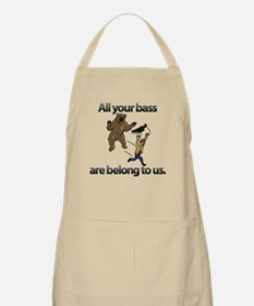 All Your Bass BBQ Apron