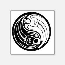 """jinn-yangel-T Square Sticker 3"""" x 3"""""""