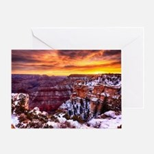 Grand Canyon Landscape at Sunrise Greeting Card