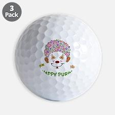 Purim Clown Golf Ball