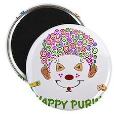 Purim Clown Magnet