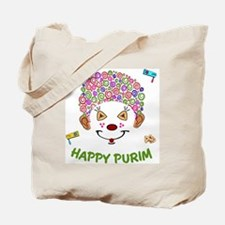 Purim Clown Tote Bag