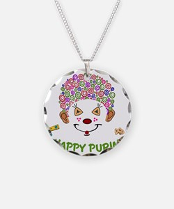 Purim Clown Necklace