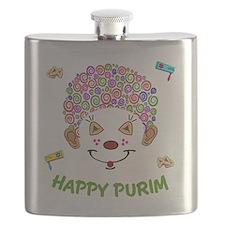 Purim Clown Flask