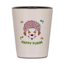 Purim Clown Shot Glass
