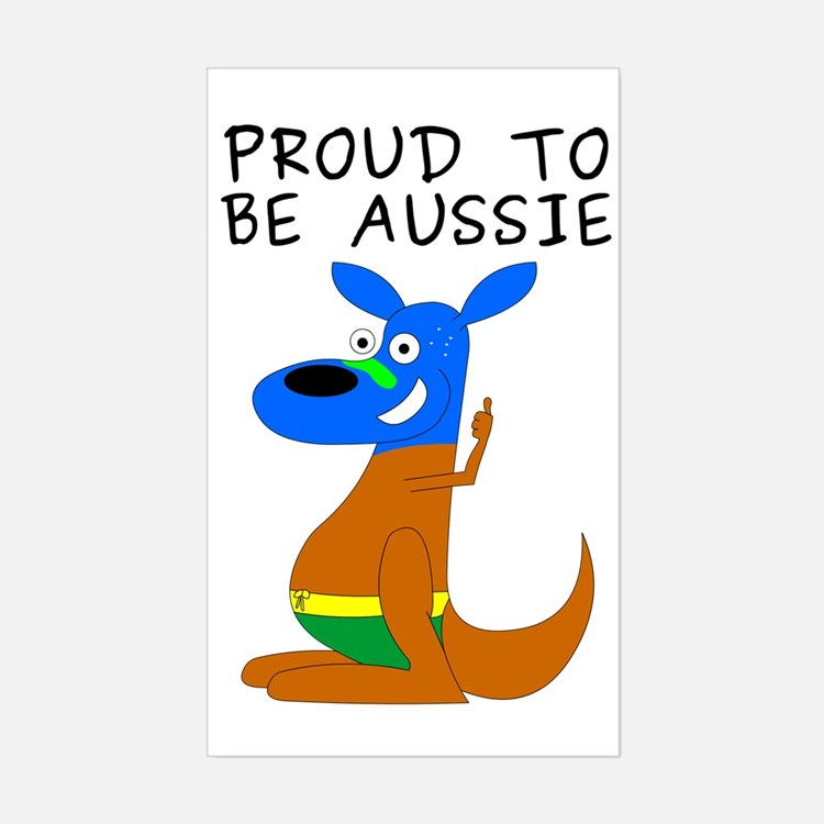 proud to be aussie Decal