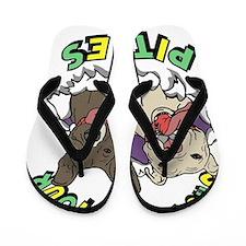 Show Me your Pitties Flip Flops