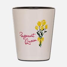 Pagent Queen Shot Glass