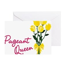 Pagent Queen Greeting Card