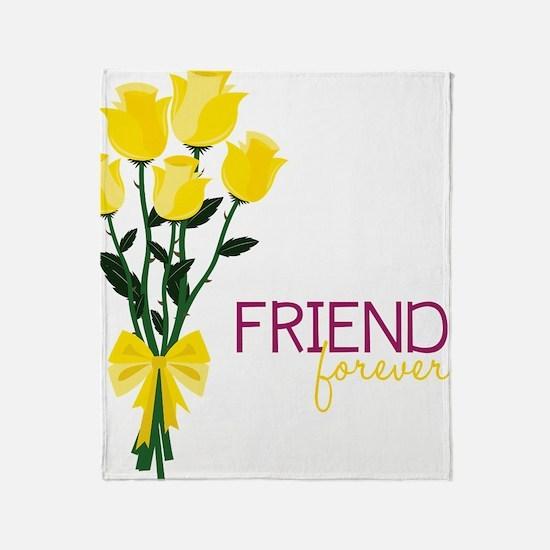 Friends Forever Throw Blanket