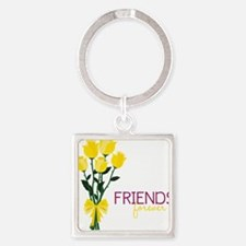 Friends Forever Square Keychain